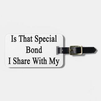 Hockey Is That Special Bond I Share With My Boyfri Bag Tag