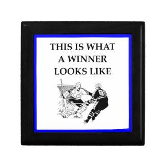 hockey jewelry box