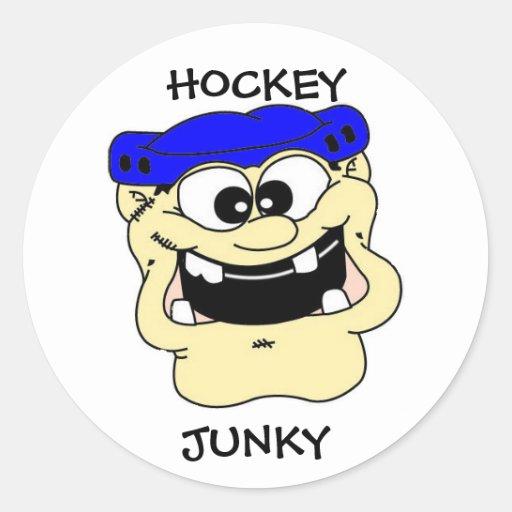 HOCKEY JUNKY STICKER