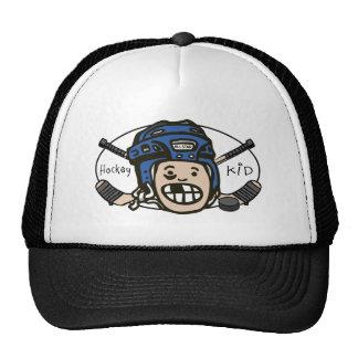 Hockey Kid Blue Hats