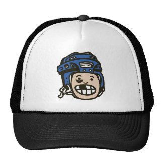 Hockey Kid Blue Hat