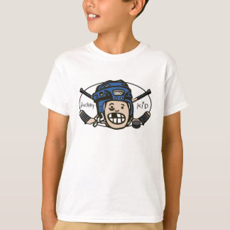 Hockey Kid Blue T-Shirt