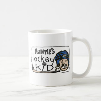 Hockey Kid de tía Taza De Café