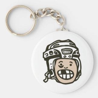 Hockey Kid Keychain