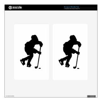 Hockey Kindle Fire Decal