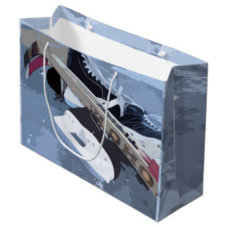 Hockey Large Gift Bag