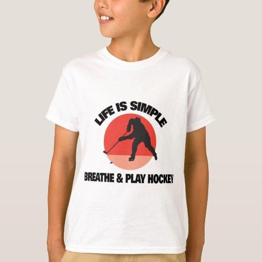 Hockey Life Is Simple T-Shirt