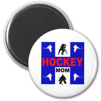 Hockey lindo imán de frigorífico