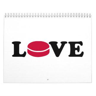 Hockey love calendar