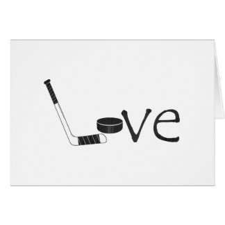 Hockey Love Card