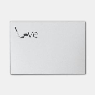 Hockey Love Post-it® Notes