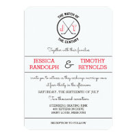 Hockey Love Wedding Invitations