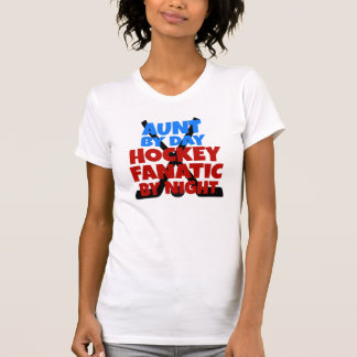 Hockey Lover Aunt Tee Shirts