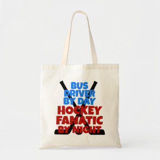 Hockey Lover Bus Driver Tote Bag