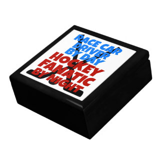 Hockey Lover Race Car Driver Gift Box