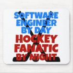 Hockey Lover Software Engineer Mousepads