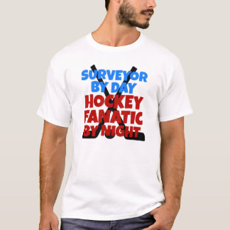 Hockey Lover Surveyor T-Shirt