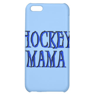 Hockey Mama Blue and Gifts iPhone 5C Cases