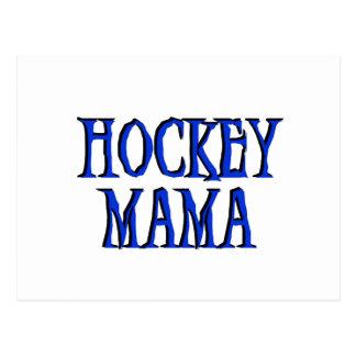 Hockey Mama Blue T-shirts and Gifts Post Card