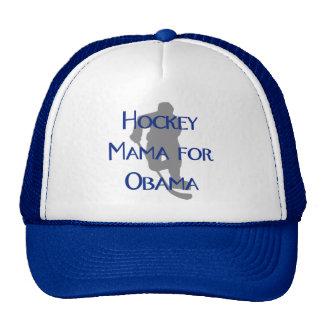 Hockey Mama for Obama Trucker Hat