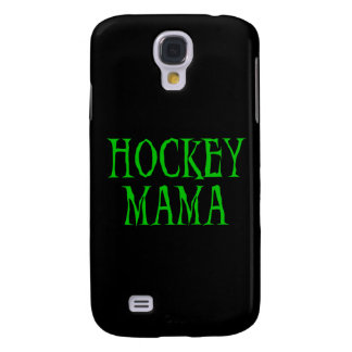 Hockey Mama Green and Gifts Galaxy S4 Cover