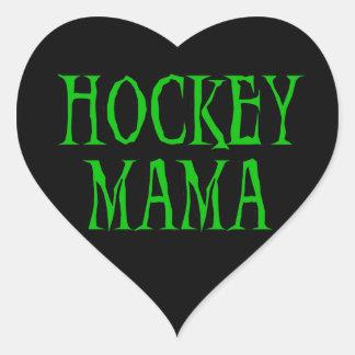 Hockey Mama Green T-shirts and Gifts Sticker