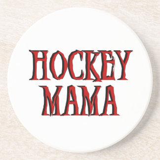 Hockey Mama Red T-shirts and Gifts Coaster