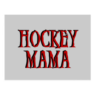 Hockey Mama Red T-shirts and Gifts Postcard