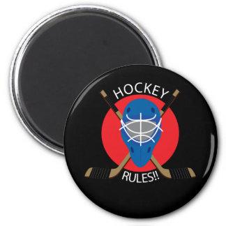 Hockey Mask 2 Inch Round Magnet