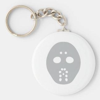 hockey mask keychain