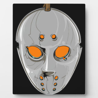 Hockey Mask Plaque