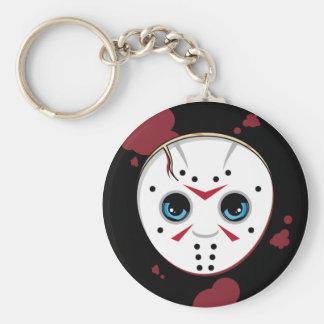 Hockey Mask Serial Killer Keychain