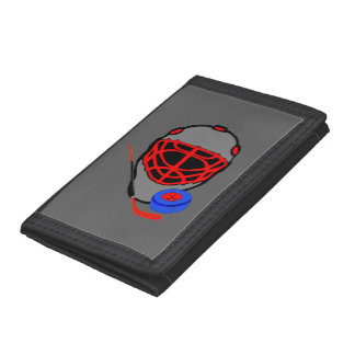 Hockey Mask Wallet - Hockey Themed Gifts
