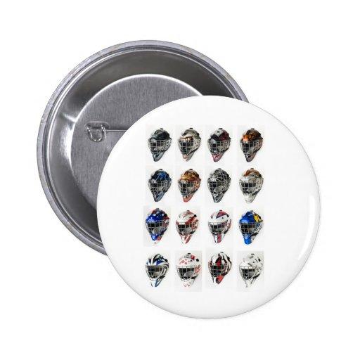 Hockey Masks Pins