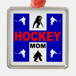 Hockey Metal Ornament