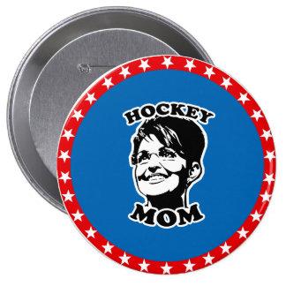Hockey Mom Pins