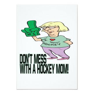 Hockey Mom Card