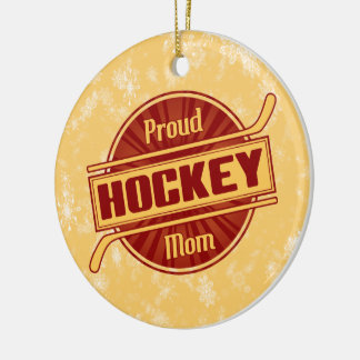 Hockey Mom Christmas Ornament, Tree Decoration