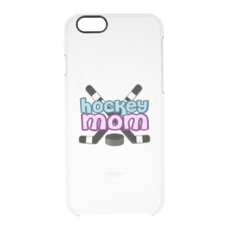 Hockey Mom Clear iPhone 6/6S Case