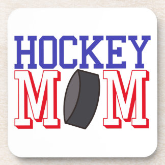 Hockey Mom Beverage Coaster