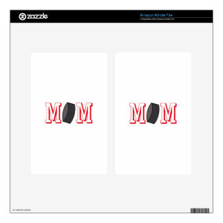 Hockey Mom Decal For Kindle Fire