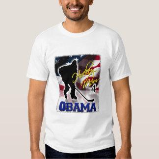 Hockey Mom for Barack Obama, Vote 2008 Elections T Shirt