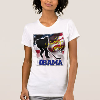 Hockey Mom for Barack Obama, Vote 2008 Elections Tee Shirt