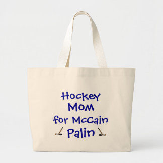 Hockey Mom for McCain Palin Bag