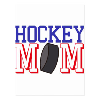 Hockey Mom Postcard