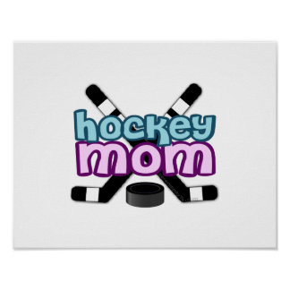 Hockey Mom Poster