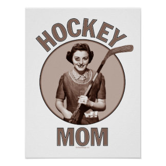Hockey Mom prints and posters