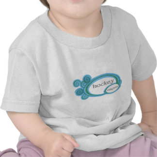 Hockey Mom Swirl T-shirts