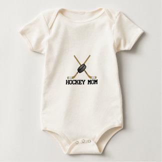 Hockey Mom Baby Bodysuits