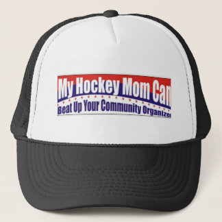 Hockey Mom vs. Community Organizer Trucker Hat
